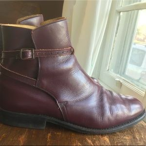CAVALLO calfskin leather vintage ankle boots